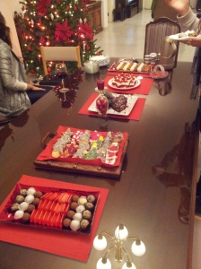 Desserts Served