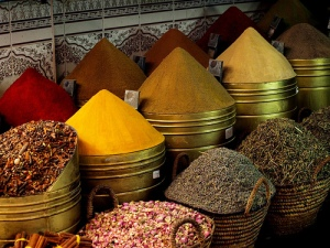 Spice Market In Morocco (I found this pic online)