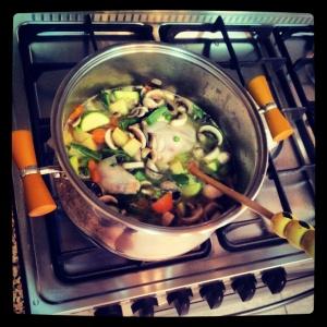 My Soup In Progress