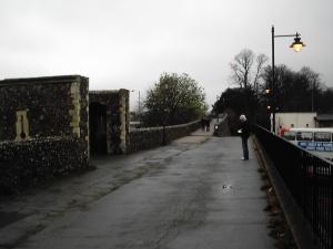 Canterbury Wall